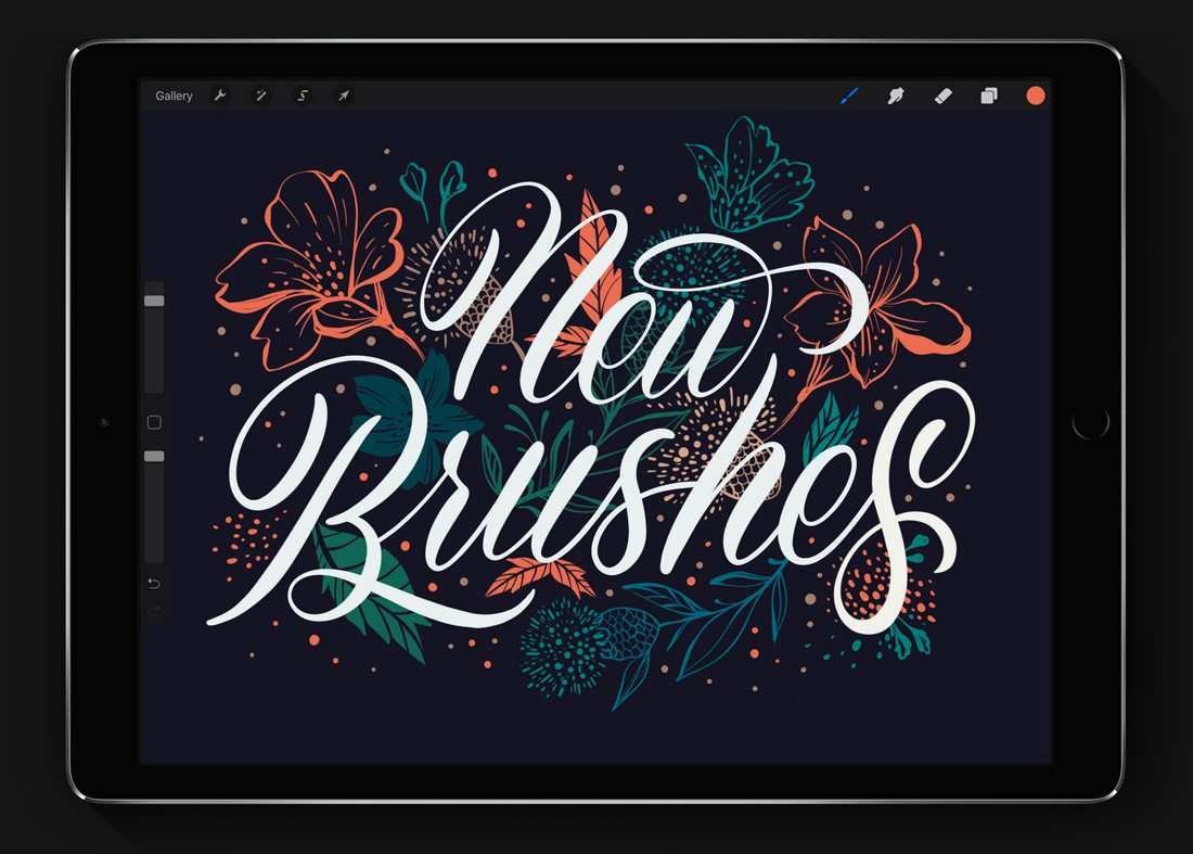 procreate-typography Procreate vs. Photoshop: Should You Make the Switch? design tips  Graphics|Software|photoshop|procreate