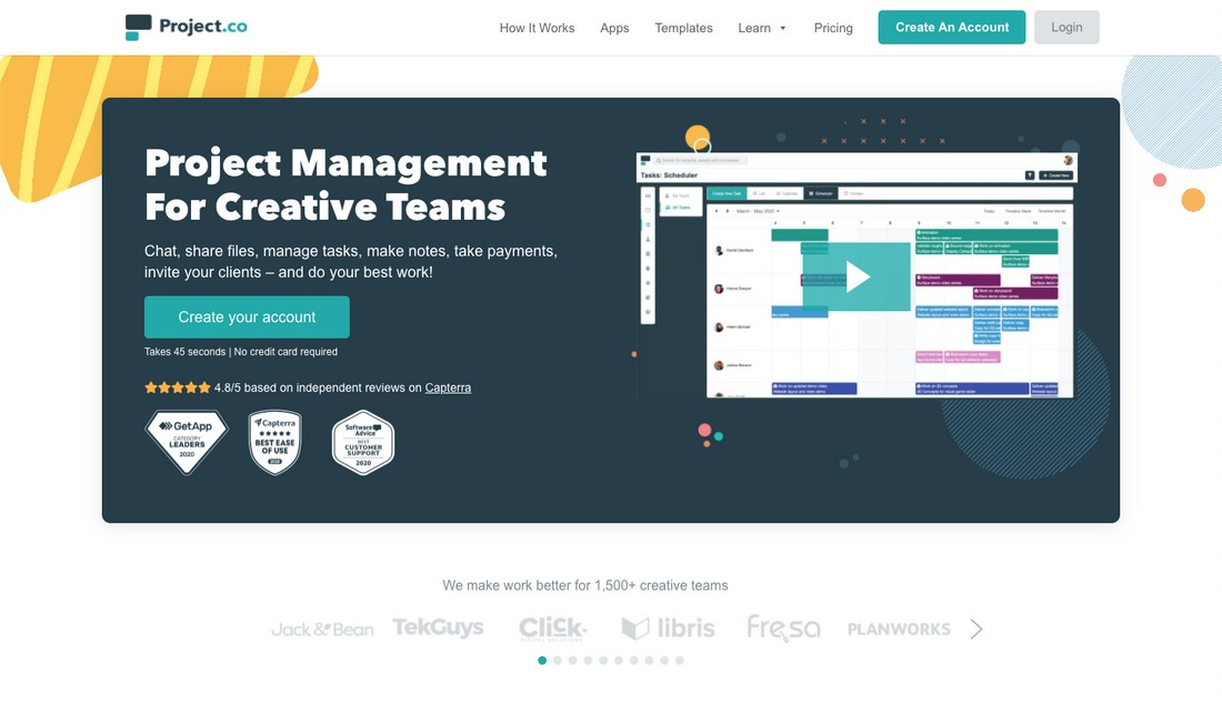 project-co Best Project Management Software for Creatives 2020 design tips