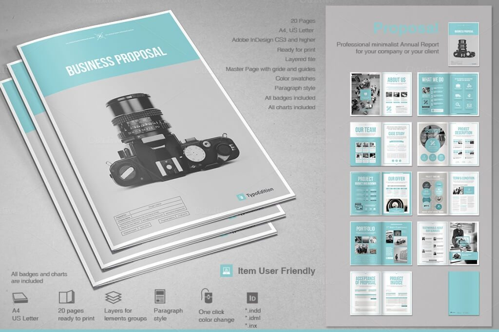 70 modern corporate brochure templates design shack this is a modern and powerful template for a proposal contains 20 pages with the possibility of creating many unique spreads cheaphphosting Images
