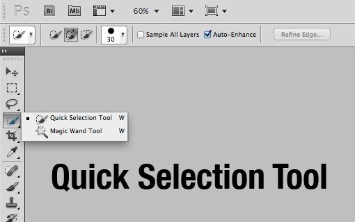 Make selections in Adobe Photoshop