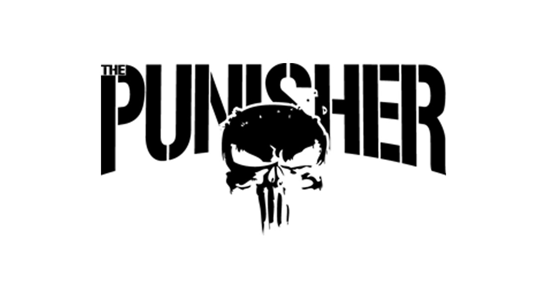 modèle de logo de film punisher