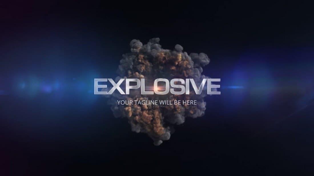 quick explosion-adobe-premiere-pro-template