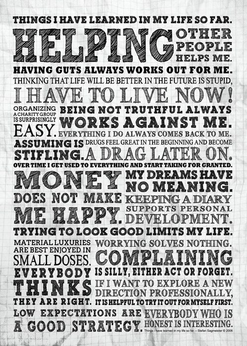 quotes-typography-poster-designs-11 Typographic Posters: 100 Stunning Examples design tips