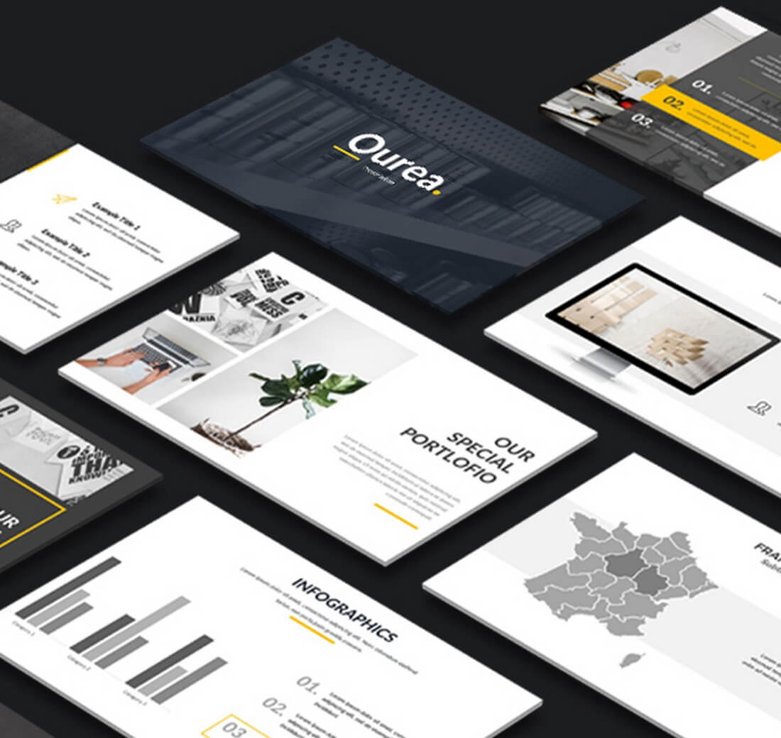 qurea 30+ Best Keynote Templates of 2018 design tips