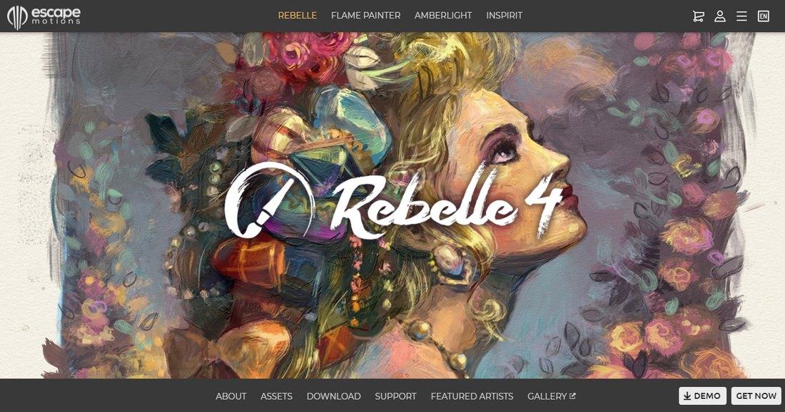 rebelle- Best Drawing Software for Digital Artists (PC & Mac) design tips