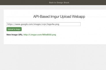 How to Build a Dynamic Imgur Upload App Using jQuery & PHP