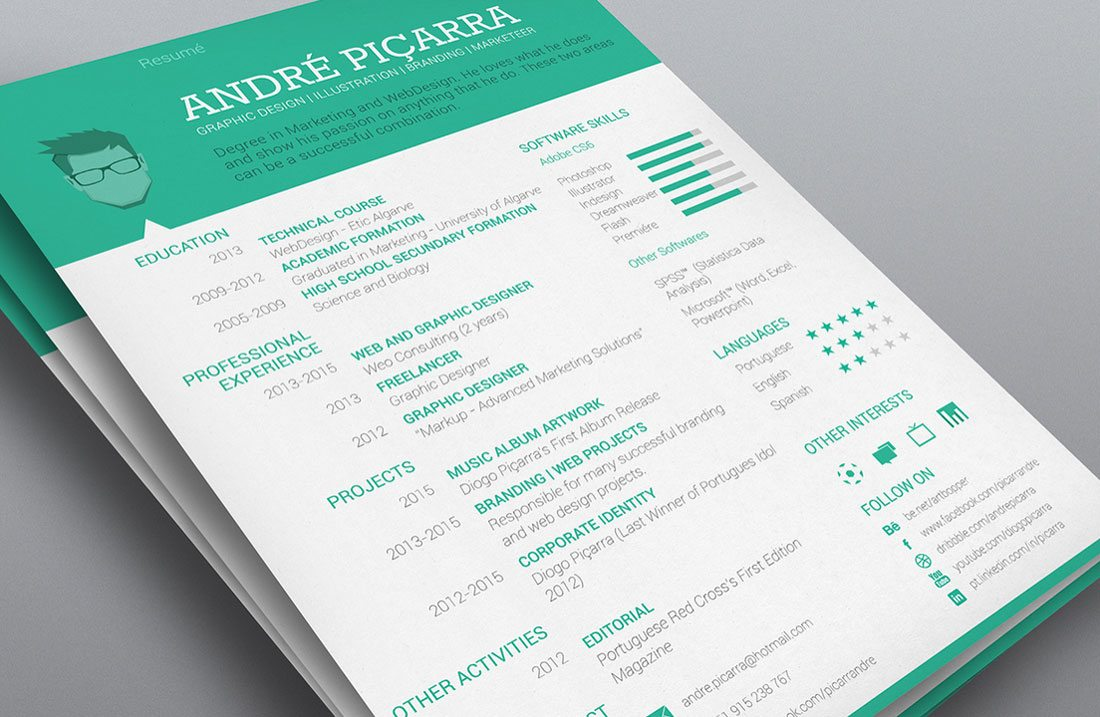 how to present your resume%0A design your resume