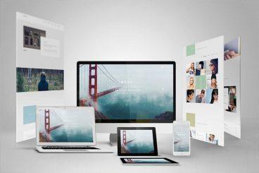 30+ Best Responsive Website & App Mockup Templates