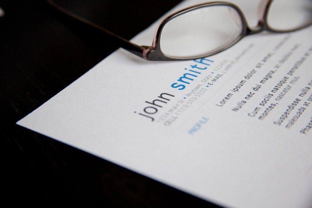 Order resume online glasses