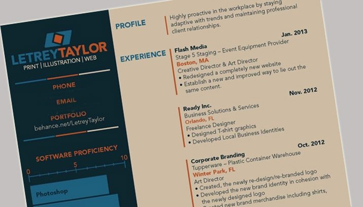 Resume Tem How To Design A Resume That Stands Out  Design Shack Research Associate Resume Pdf with College Resume Template Excel The Best Resumes To Ever Cross My Desk Were Those That Really Showed  Creativity Sample Resumes Objectives Pdf