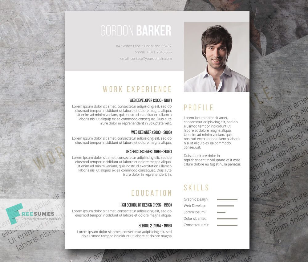 Classic Resume Design Best Ideas About Professional Resume Design Cv