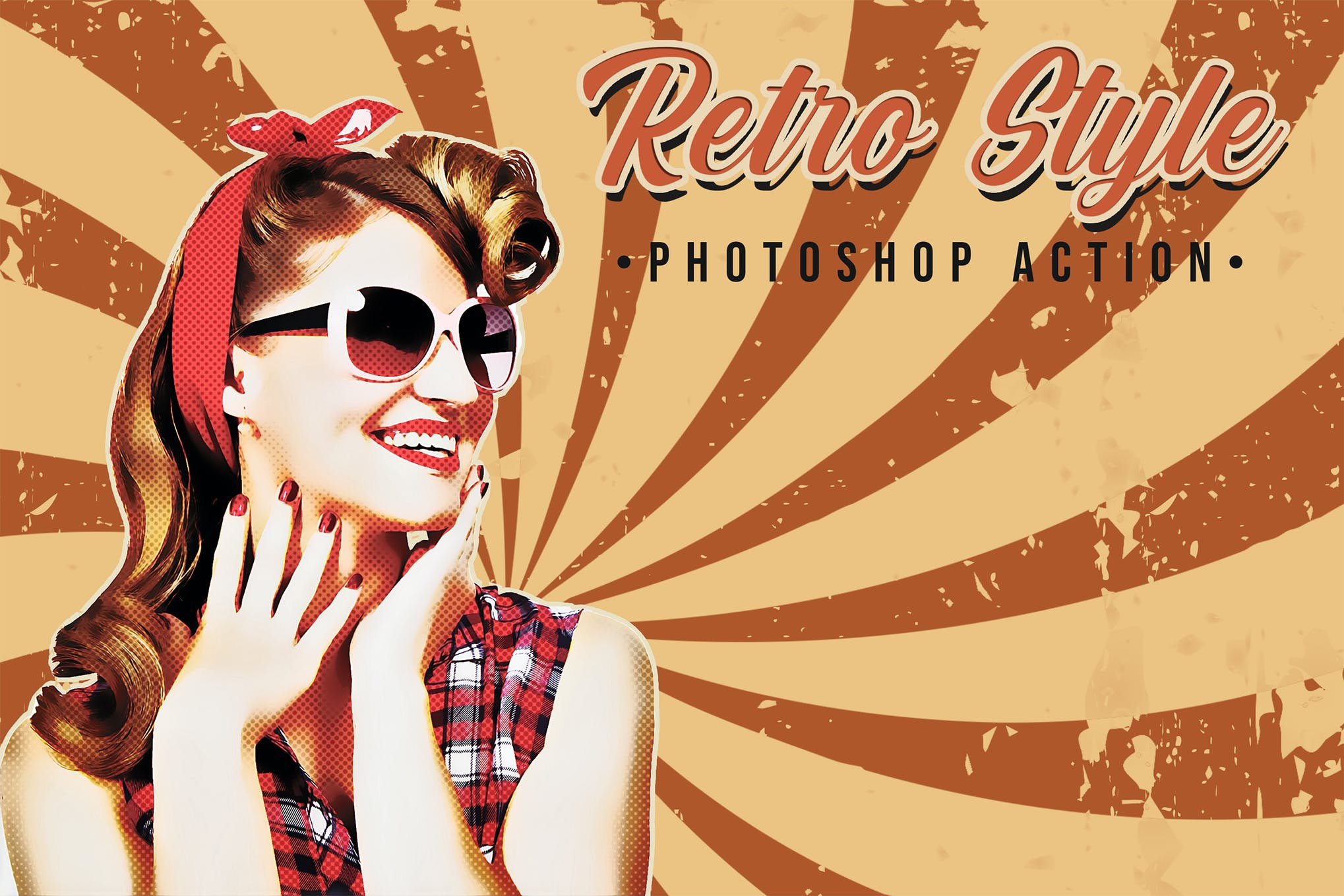 retro photoshop action