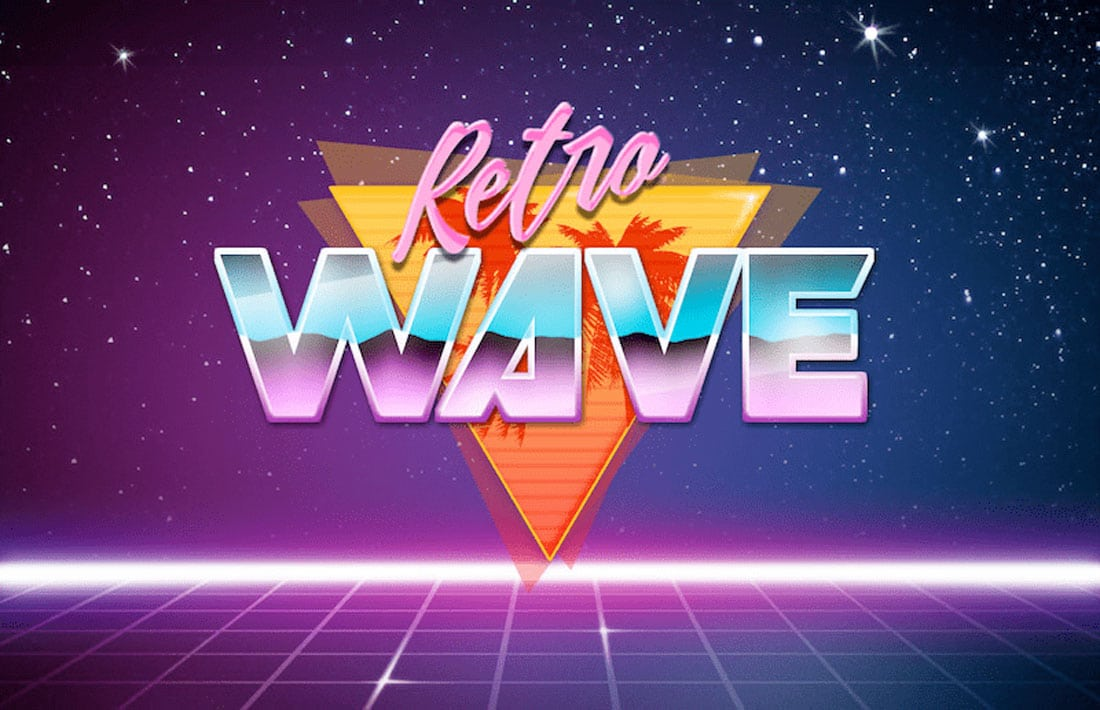 retro-wave 80s Fonts: A Retro Typographic Trend (+ Examples) design tips