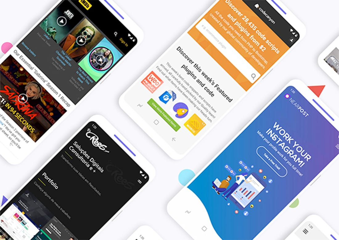 app template android