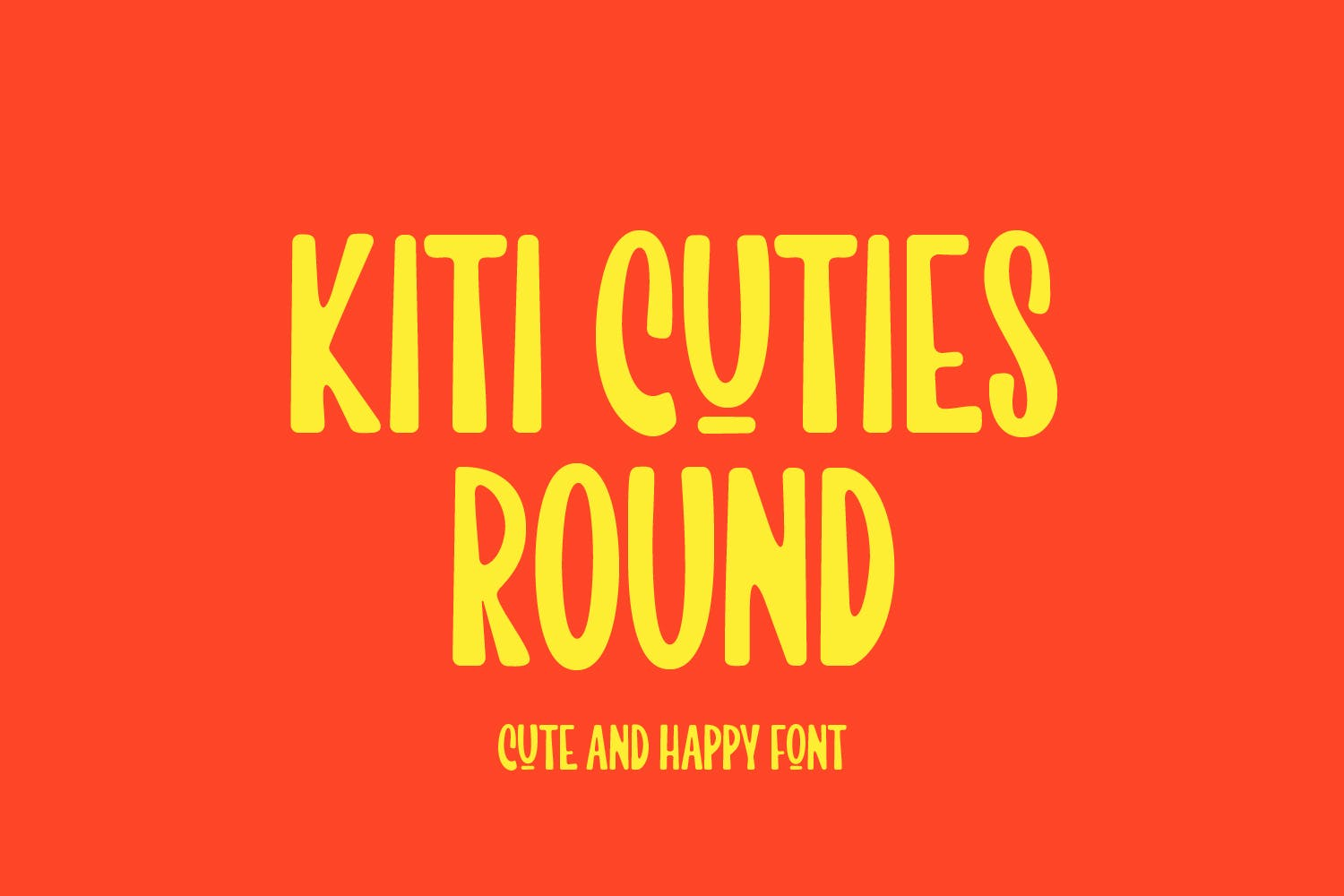 rounded font