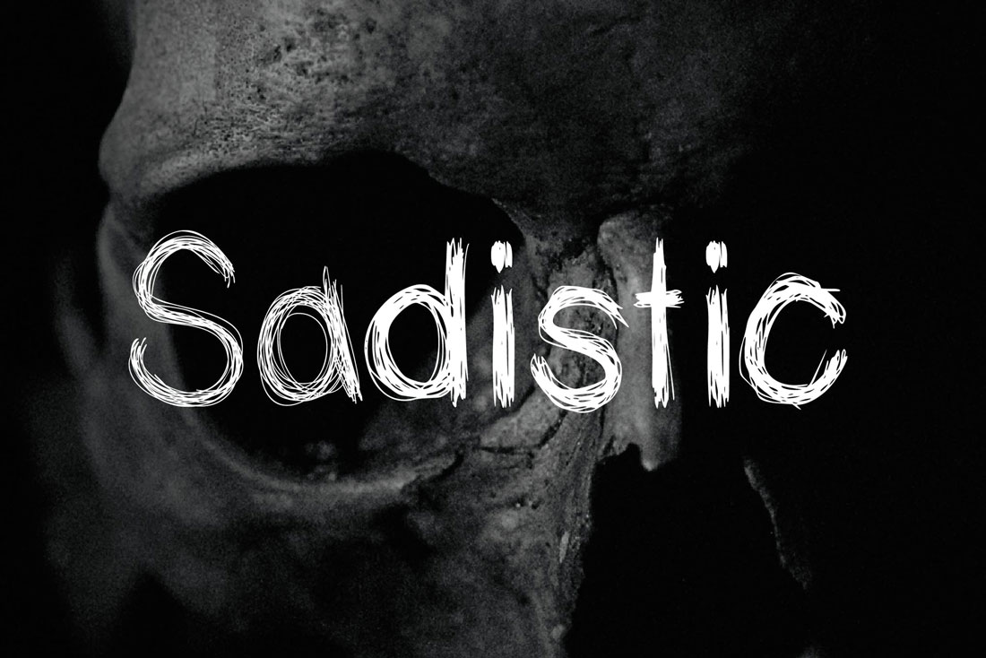 sadistic-font Halloween Graphic Design: 10 Spooky Tips & Ideas design tips