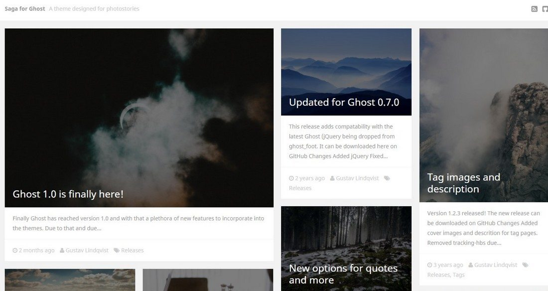 30 Beautifully Designed Ghost Themes 9
