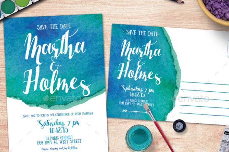 15+ Gorgeous Save the Date Templates