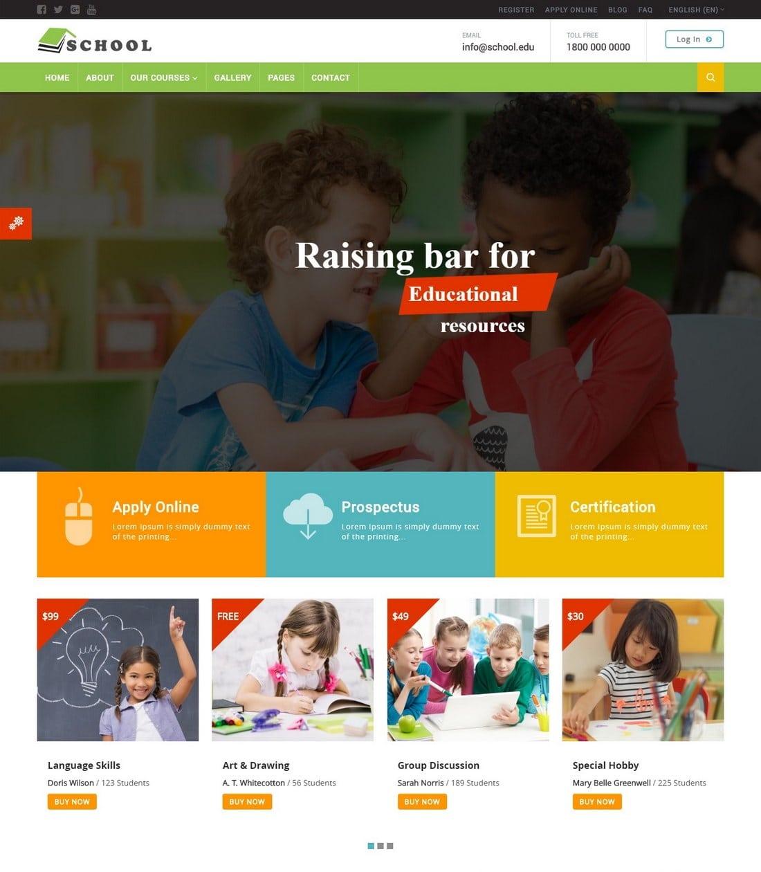 school-moodle-theme 15+ Best Moodle Themes of 2019 design tips