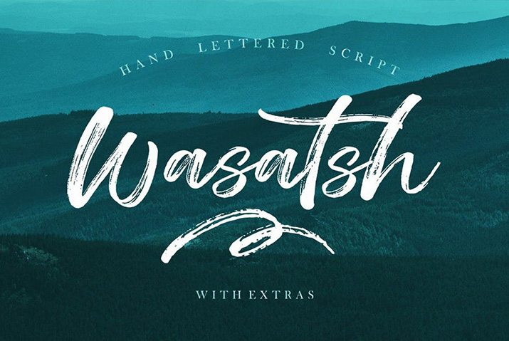 100 beautiful script brush & calligraphy fonts design shack