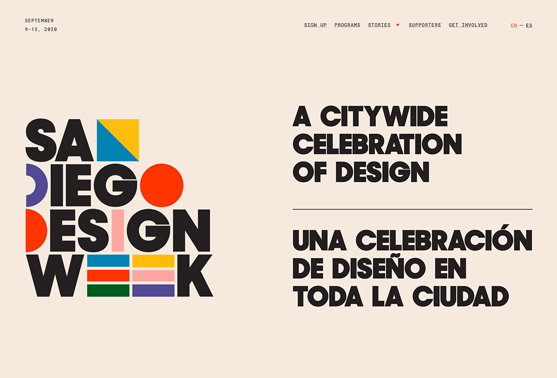 sdweek Design Trend: Experimental Typefaces & Fonts design tips