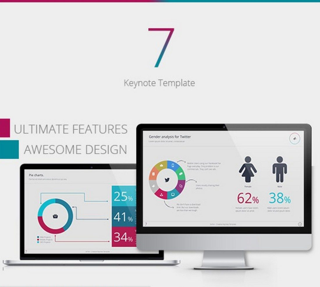 se7en 30+ Best Keynote Templates of 2018 design tips