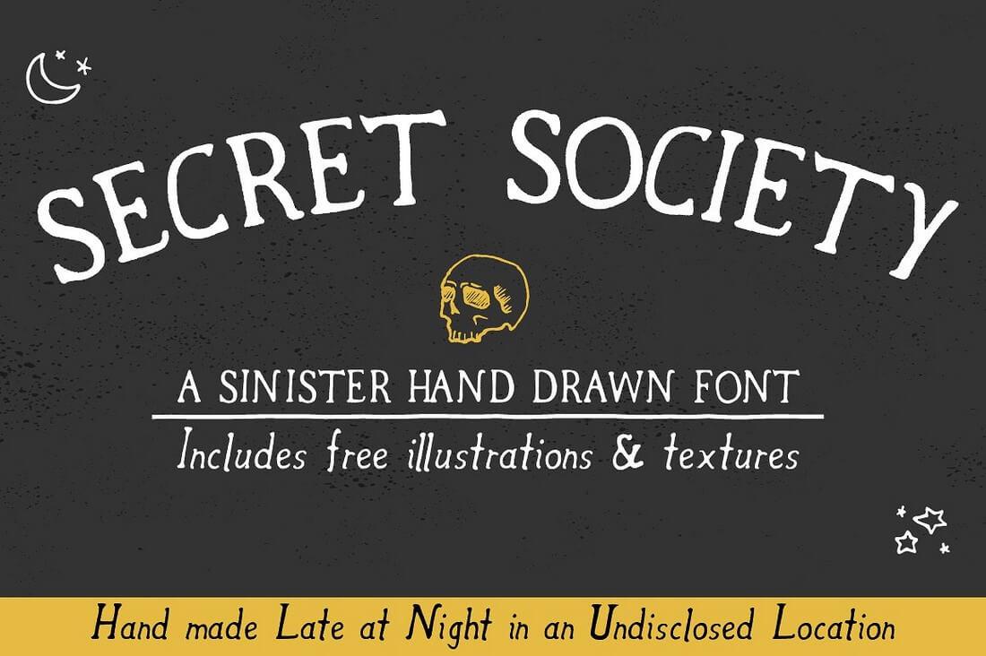 secret_society_cover_photo_final_final- 100+ Best Modern Serif Fonts design tips