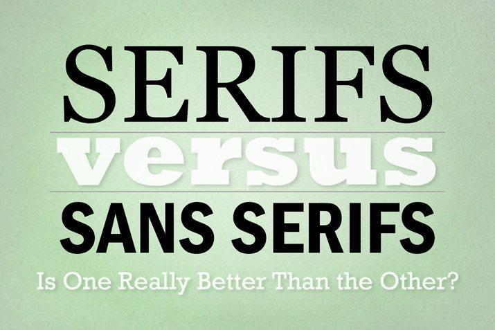 serifsVsans