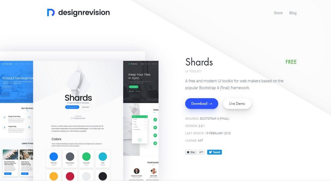 shards 20+ Awesome Resources for Bootstrap Lovers design tips