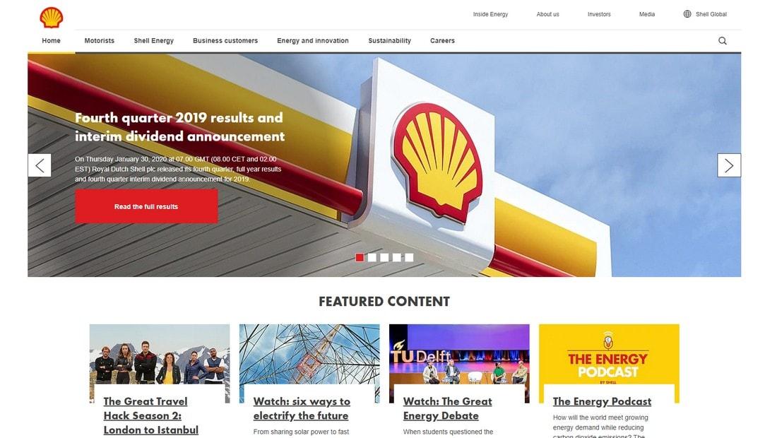 shell global