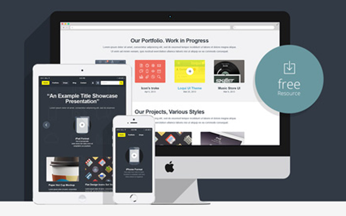 showcase-mock1 How to Customize a Website Mockup Template design tips