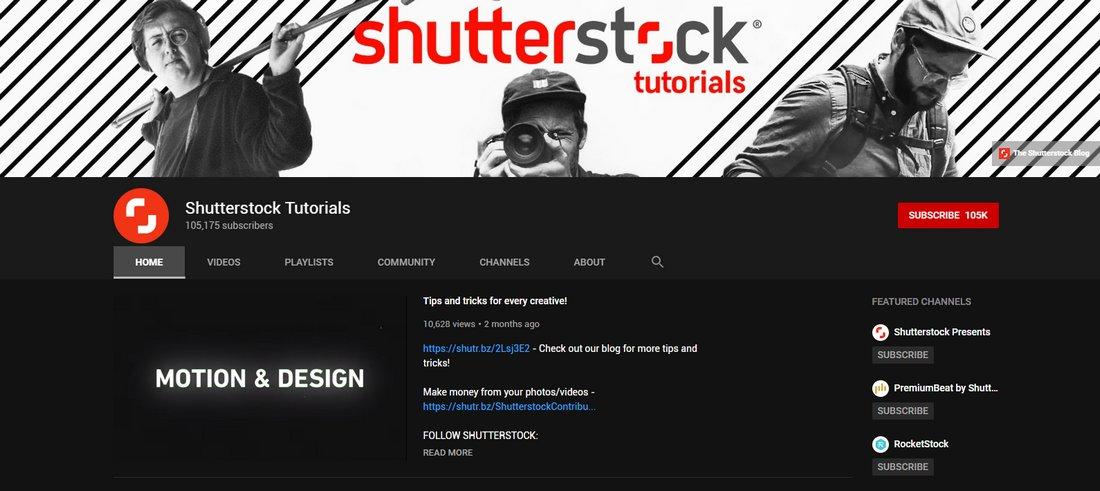 shutterstock tutorials