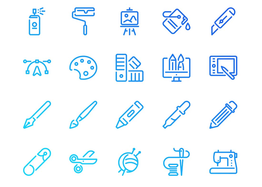 simple-icons The Design Anatomy of a Good Icon: 10 Tips design tips