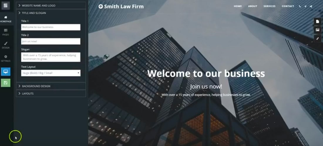 site123build Build a Website for Free With SITE123 design tips