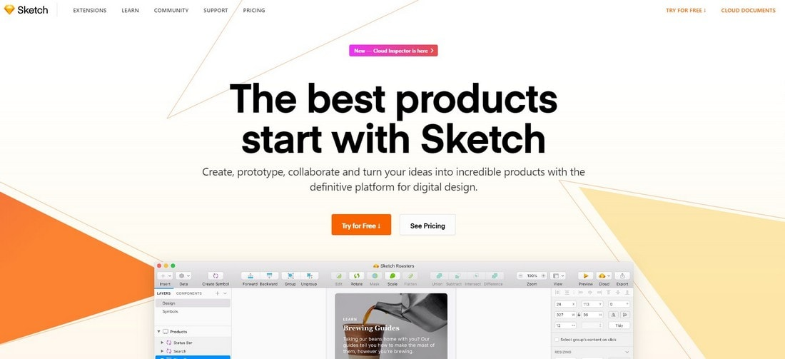sketch-2 10 Best Prototyping Tools for Designers 2020 design tips  Software