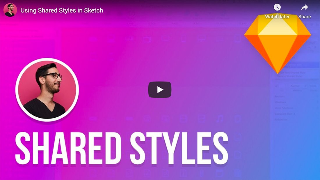 sketch-styles 15+ Best Sketch Tutorials (Sketch App for Beginners) design tips