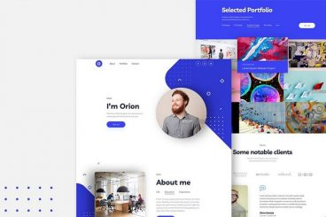 20+ Best Sketch Website Templates 2020