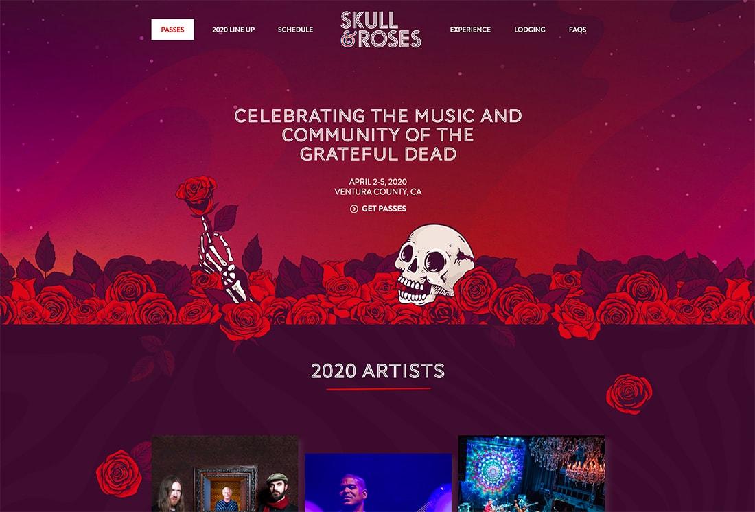 skulls Design Trend: Mono Gradients design tips  Trends|color|Inspiration|trends|web design