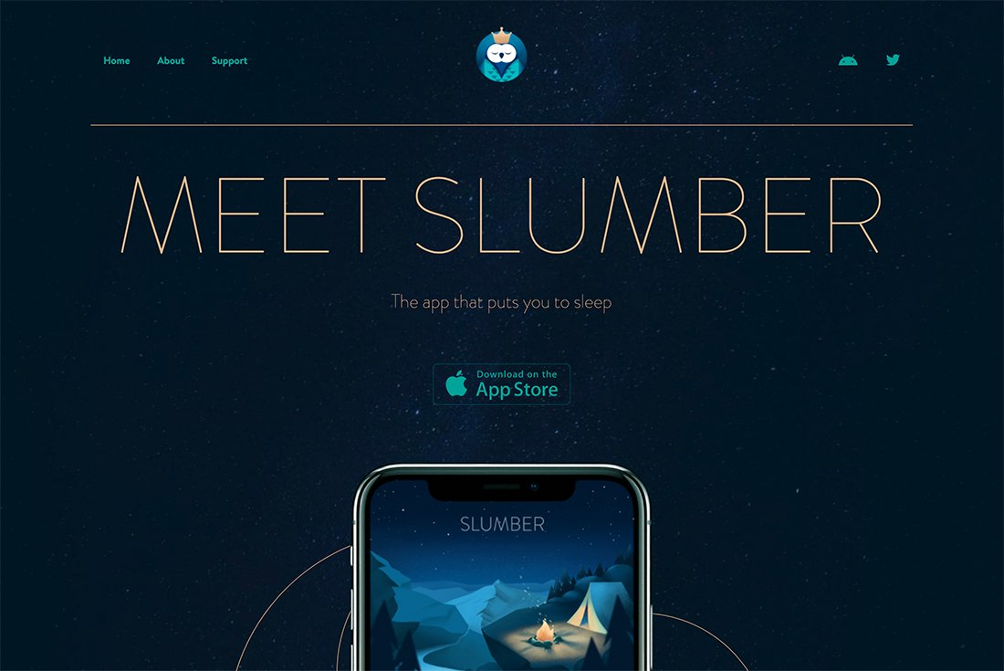 slumber 50 Best Website Color Schemes of 2020 design tips