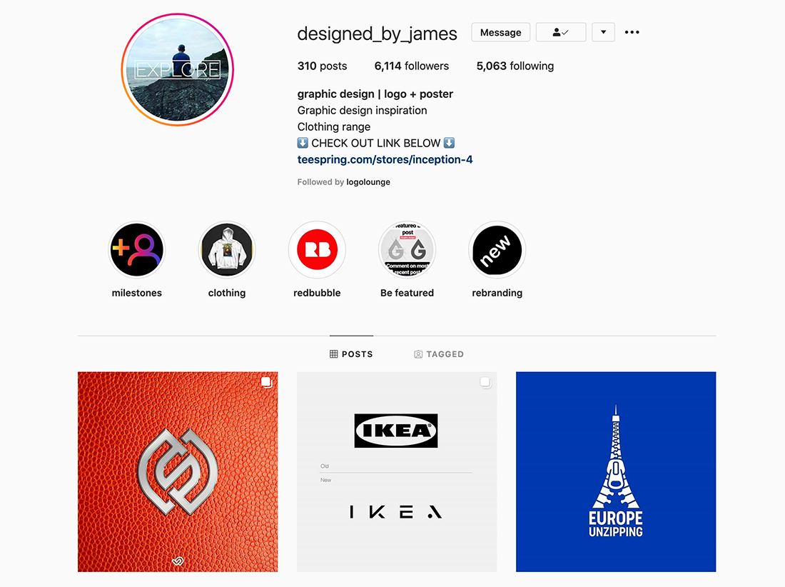social-james 11 Tips to Boost Your Design Profile on Social Media (Without Looking Sleazy) design tips