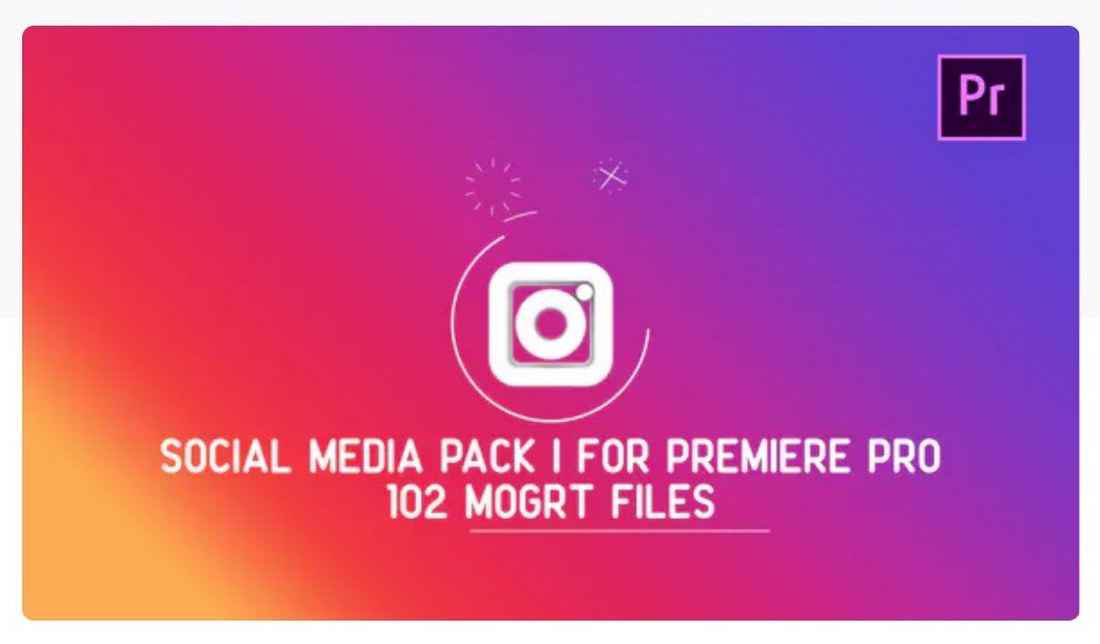 social-media-pack-premiere-pro-template 30+ Best Premiere Pro Templates 2019 design tips