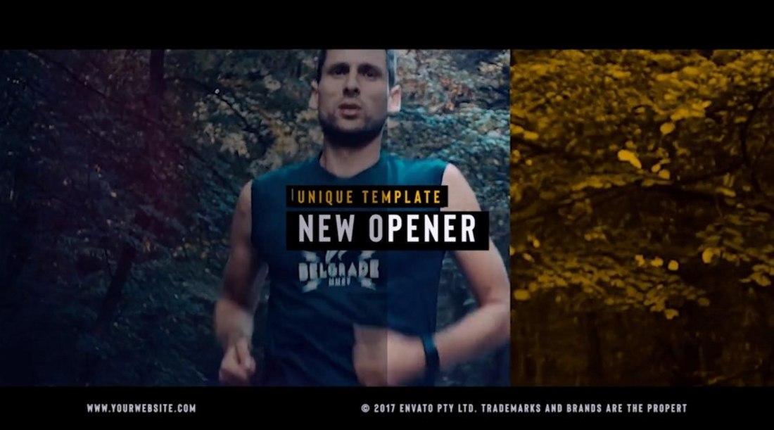 sports - premiere pro intro template