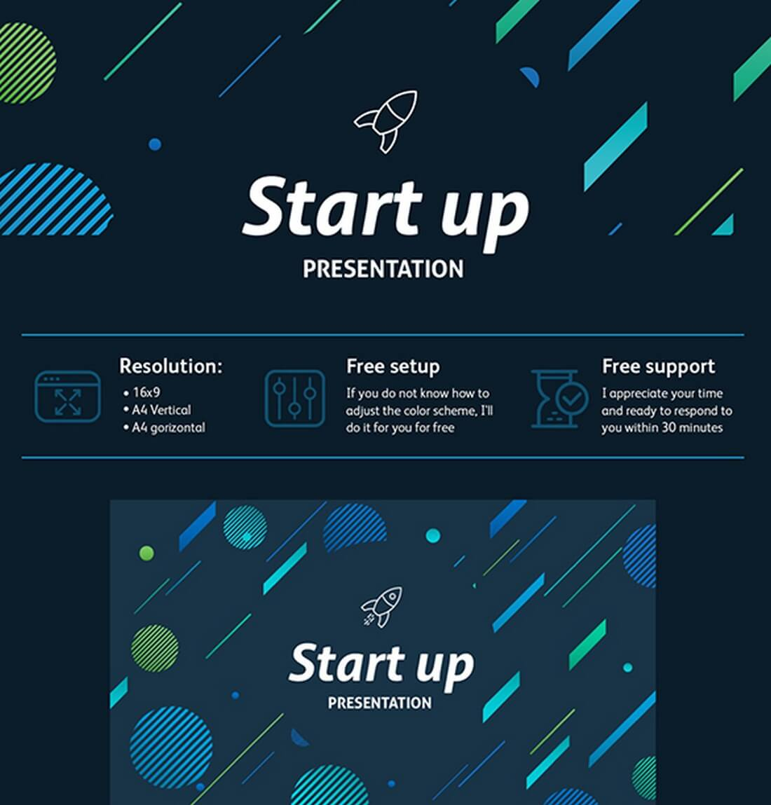 Best Keynote Templates Of Design Shack - Awesome free pitch deck template scheme