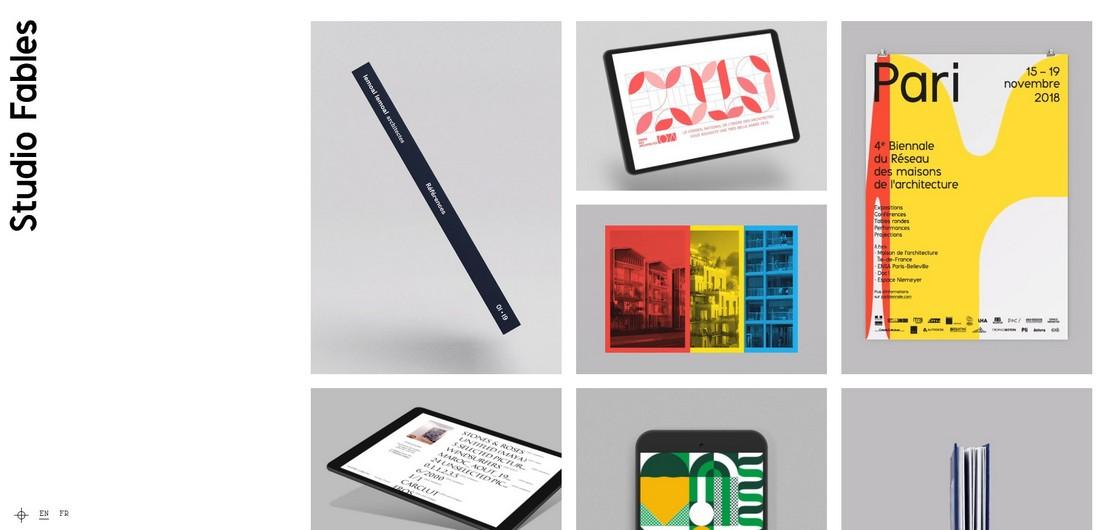 studio-fables 10 Best Graphic Design Portfolio Examples + Templates design tips