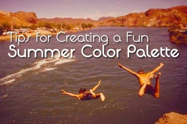 5 Tips for Creating a Fun Summer Color Palette