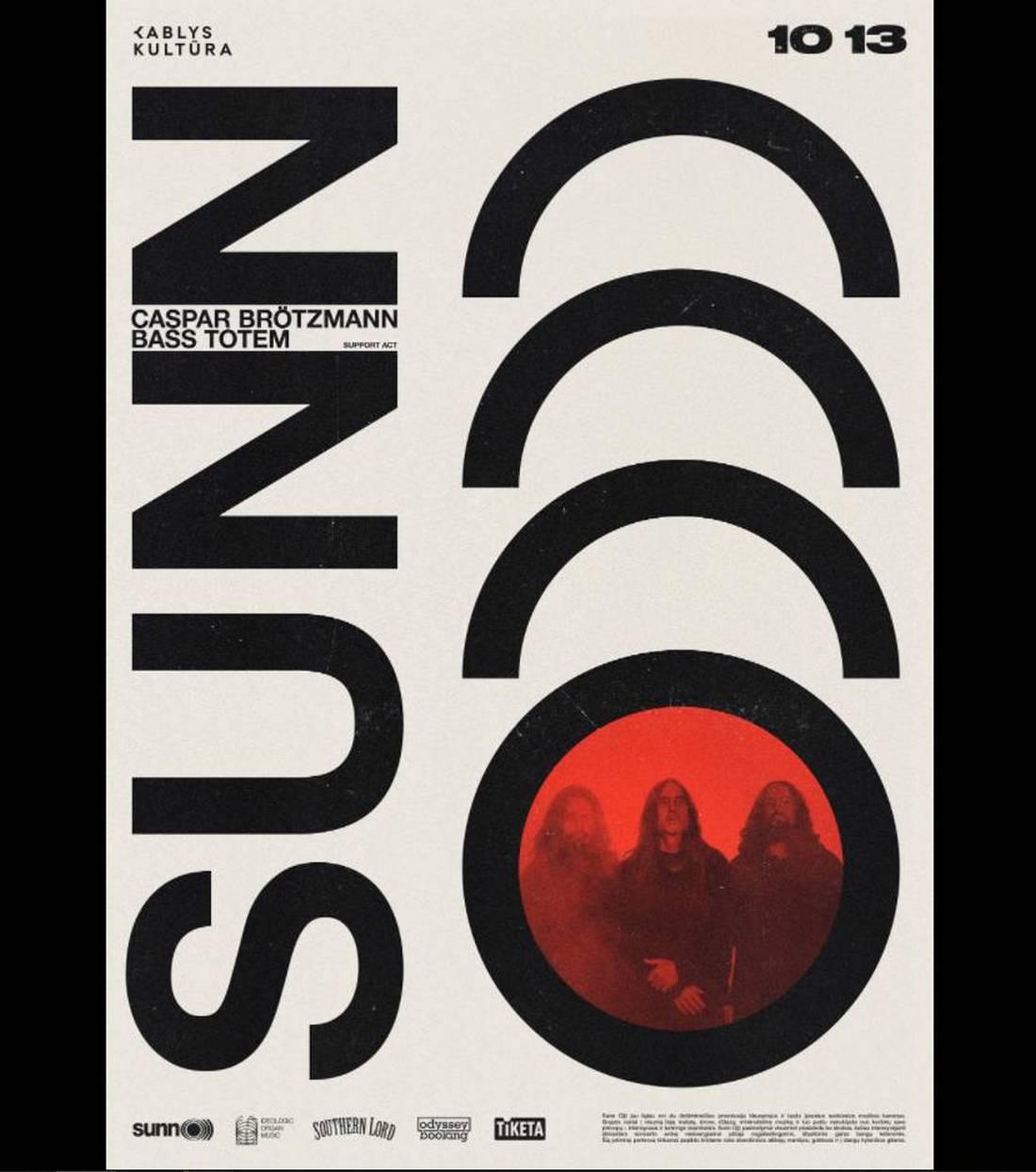 sun o band poster