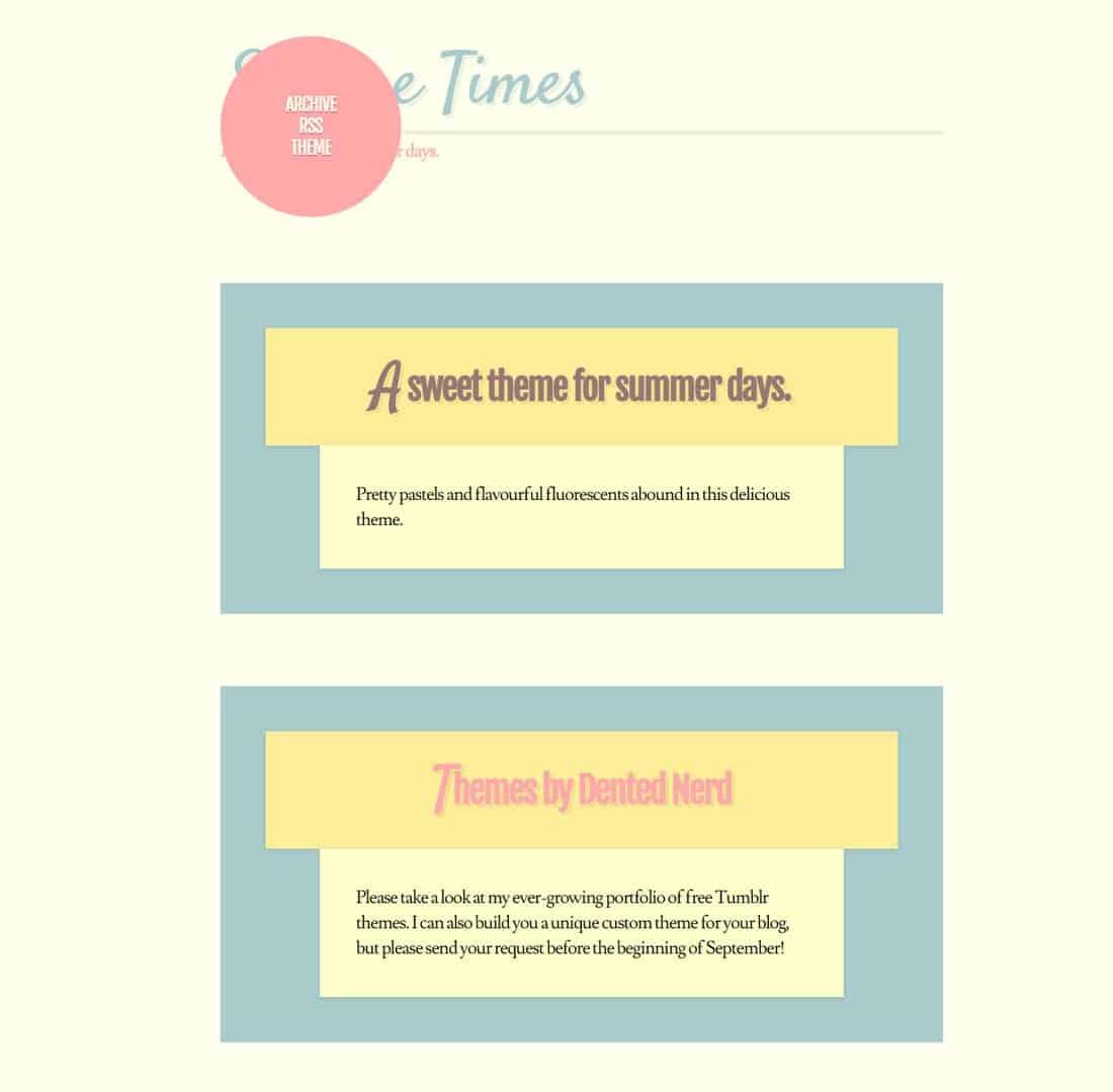sundaetimes-free-tumblr-theme