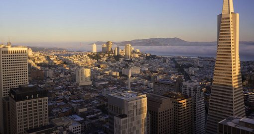 San Francisco, CA sunrise