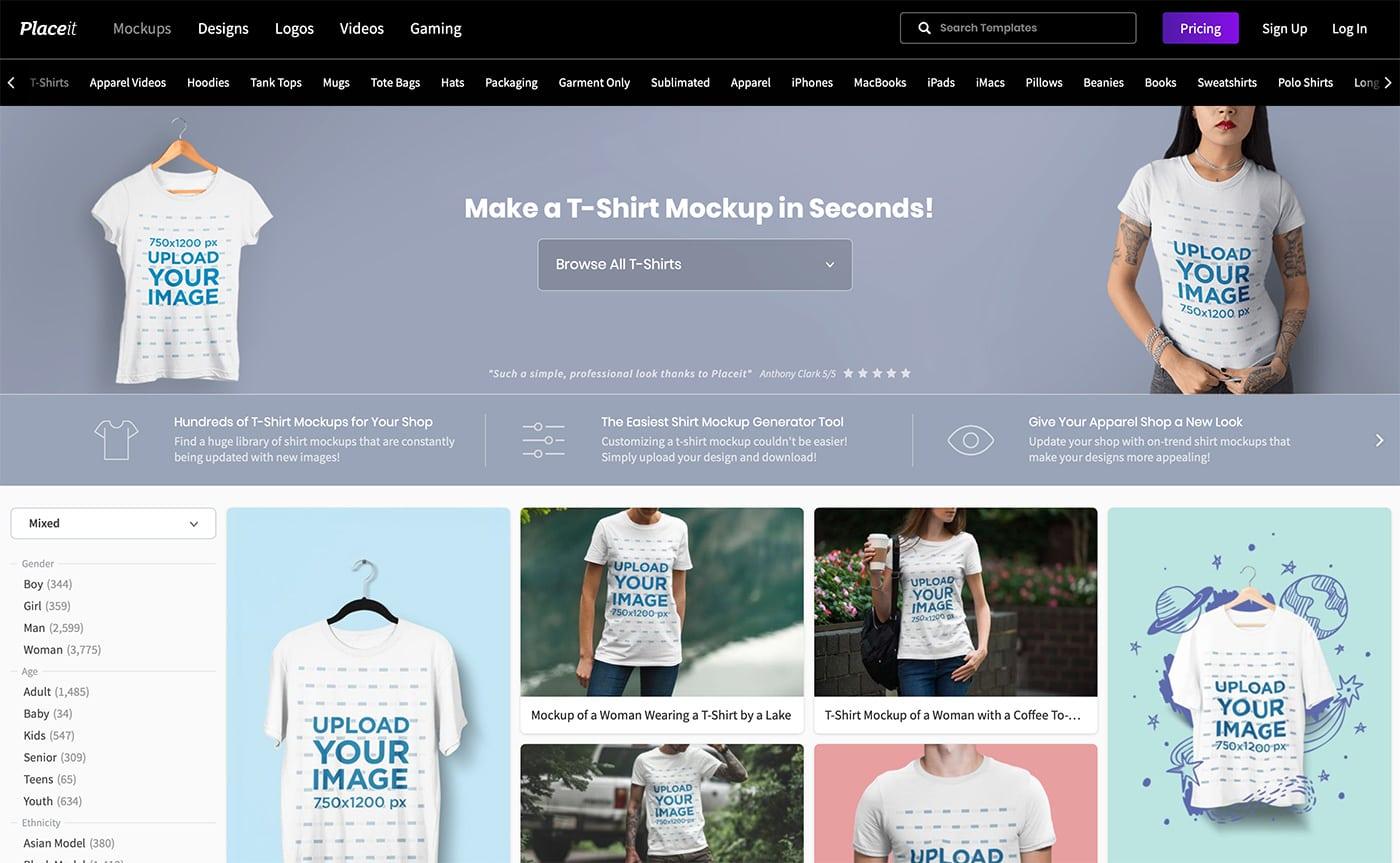 t-shirt-mockup-generator 30+ Best T-Shirt Mockup Templates 2021 (Free & Premium) design tips