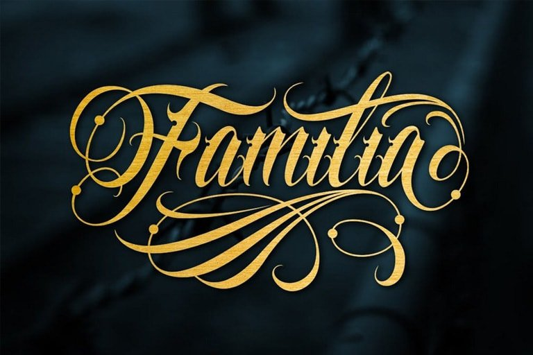 30 Best Tattoo Fonts Amp Lettering Design Shack